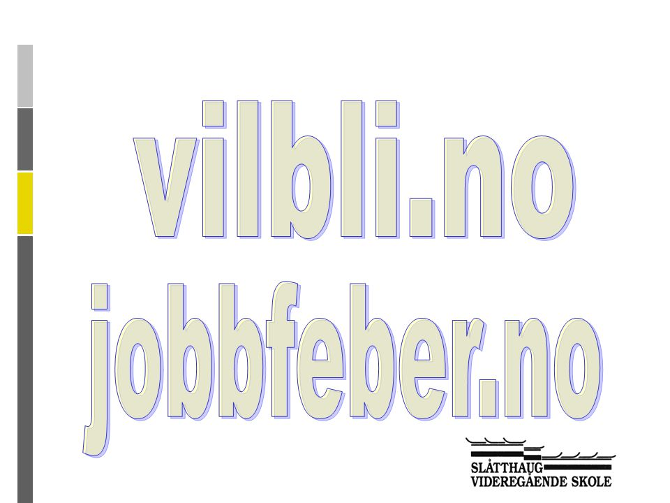 vilbli.no jobbfeber.no
