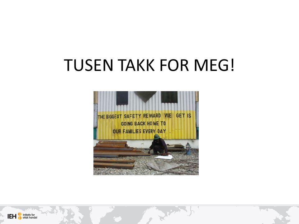 TUSEN TAKK FOR MEG!