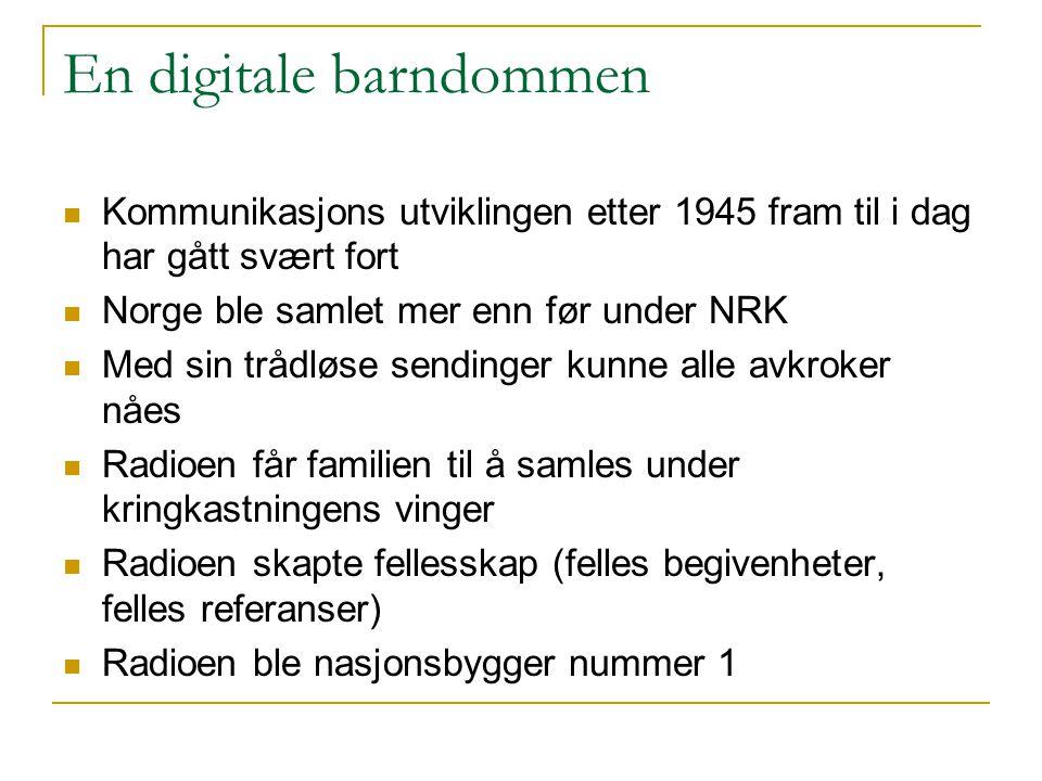 En digitale barndommen