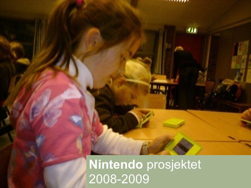 Nintendo prosjektet 2008-2009