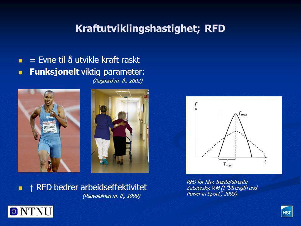 Kraftutviklingshastighet; RFD