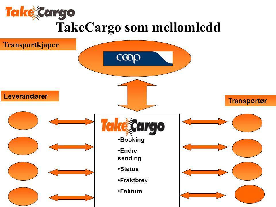 TakeCargo som mellomledd