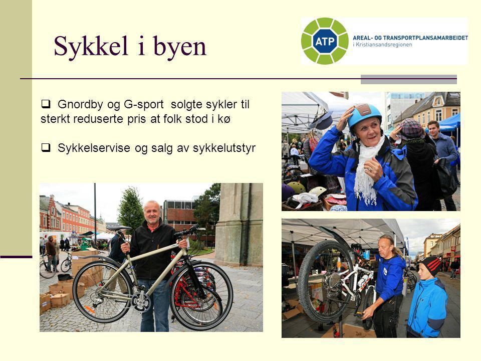 Sykkel i byen Gnordby og G-sport solgte sykler til sterkt reduserte pris at folk stod i kø.