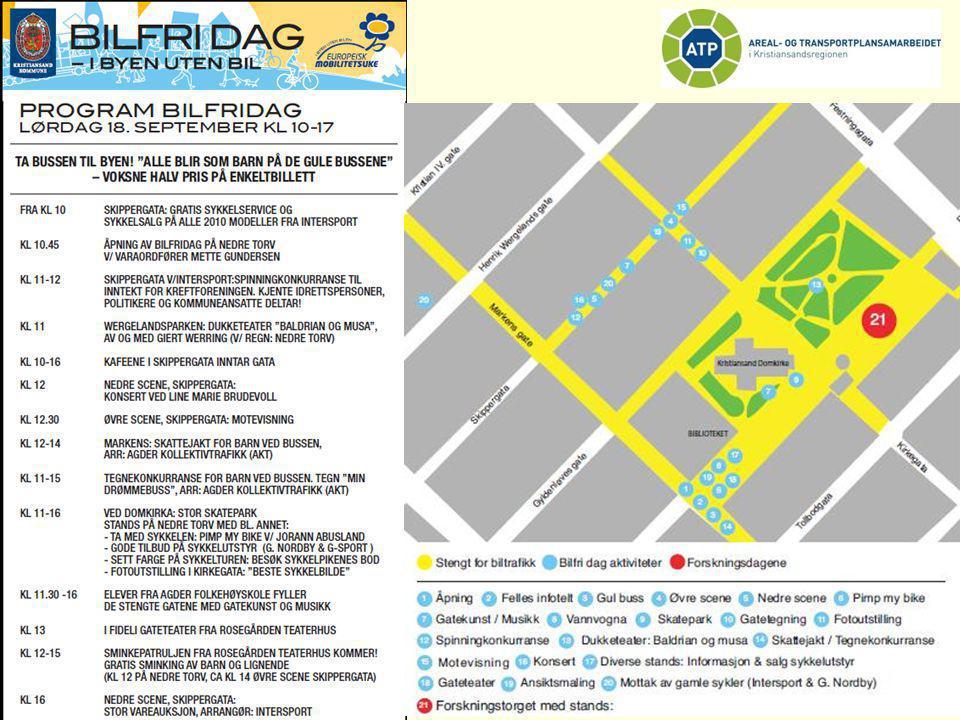 Mange fant veien til byen og alle aktivitetene på Bilfridag lørdag 18