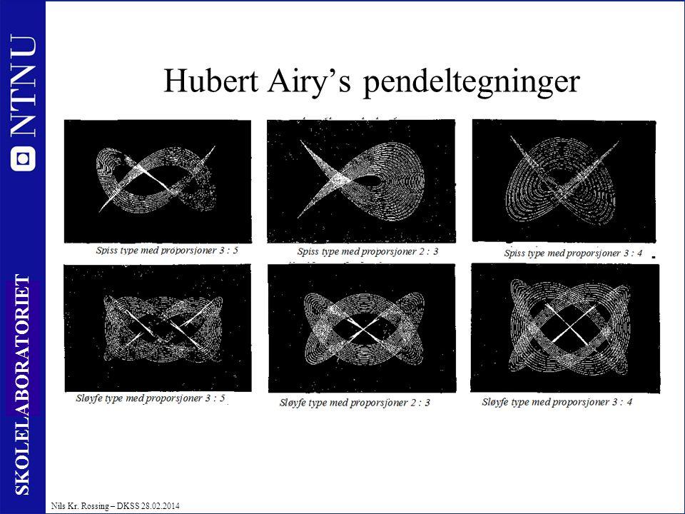 Hubert Airy's pendeltegninger