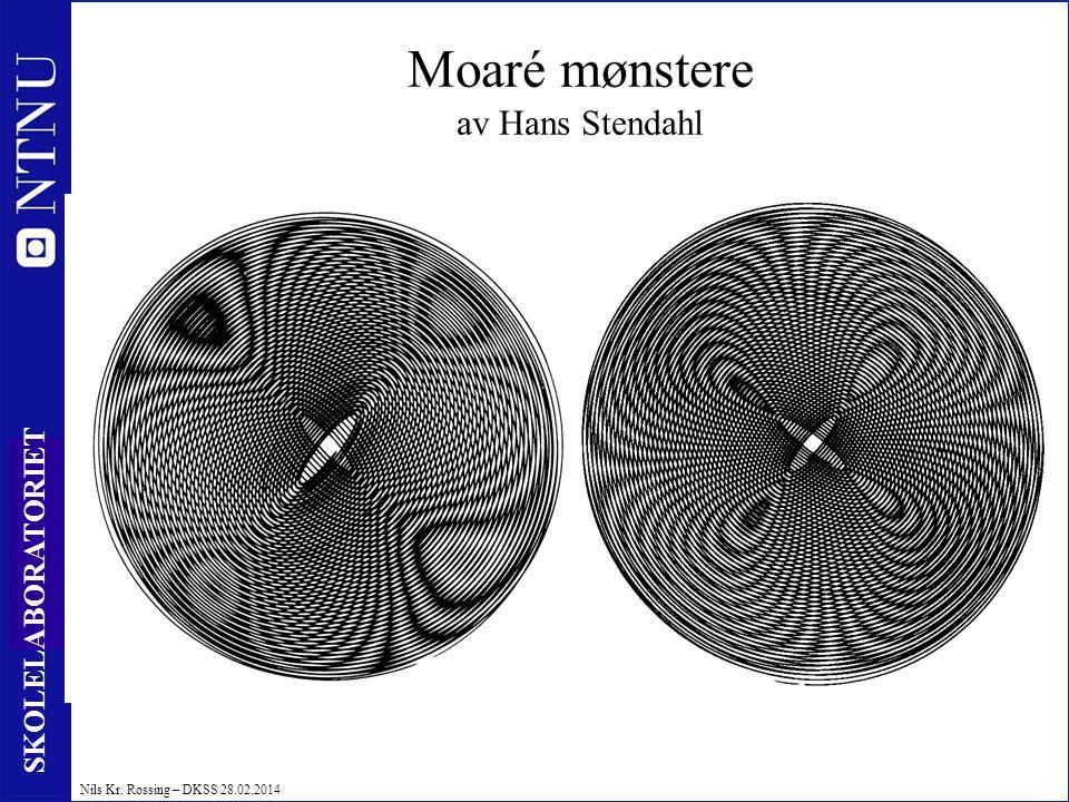 Moaré mønstere av Hans Stendahl