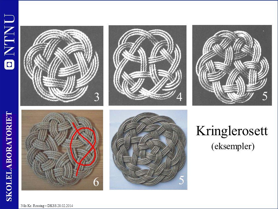 Kringlerosett (eksempler)
