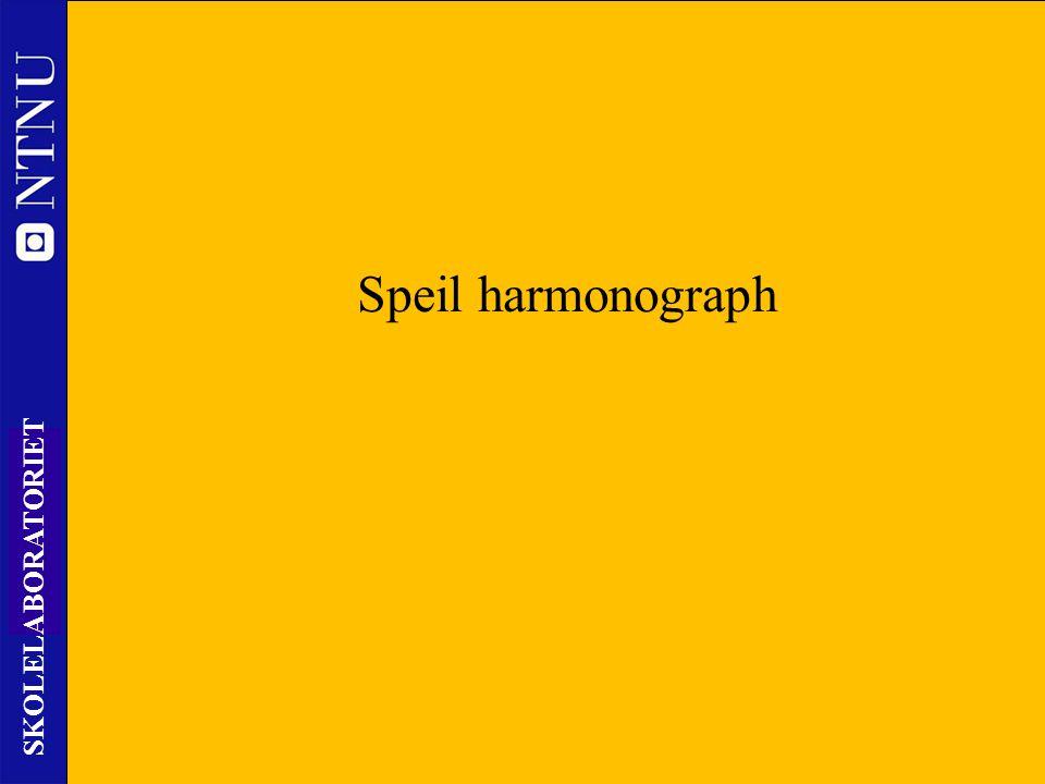 Speil harmonograph