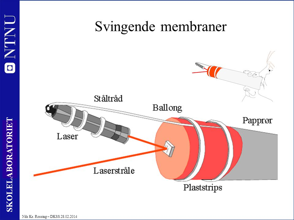 Svingende membraner