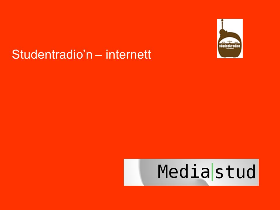 Studentradio'n – internett