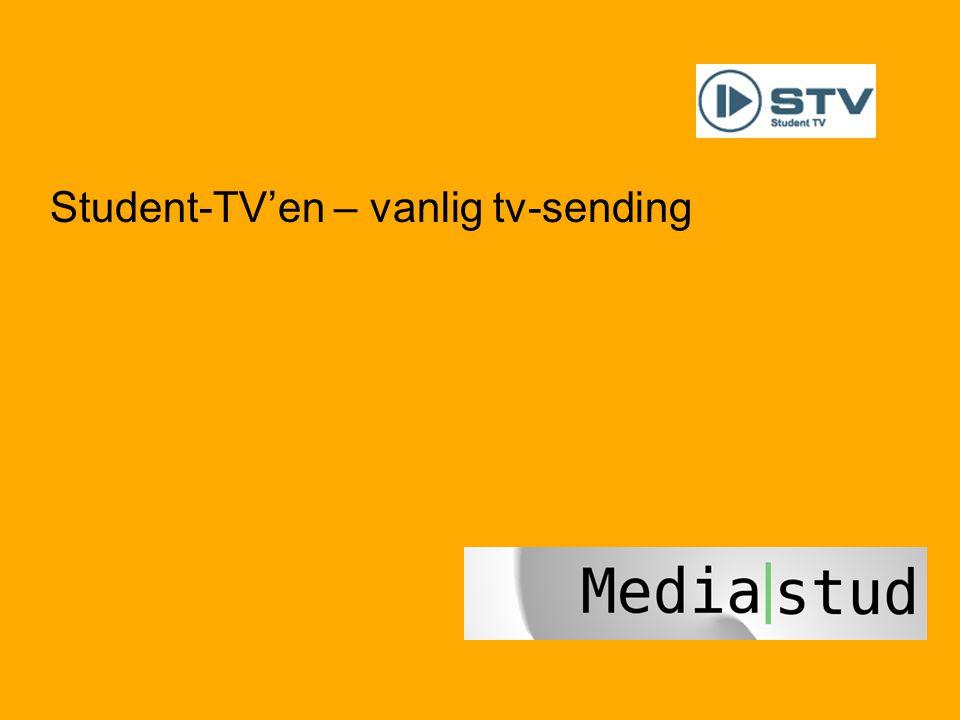 Student-TV'en – vanlig tv-sending