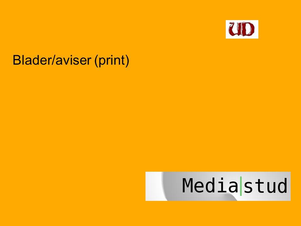 Blader/aviser (print)
