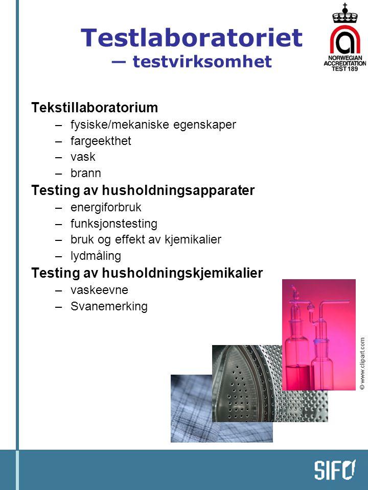 Testlaboratoriet — testvirksomhet