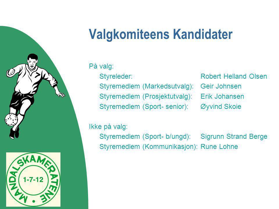 Valgkomiteens Kandidater