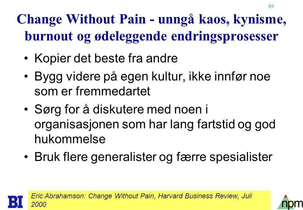 Change Without Pain - unngå kaos, kynisme, burnout og ødeleggende endringsprosesser