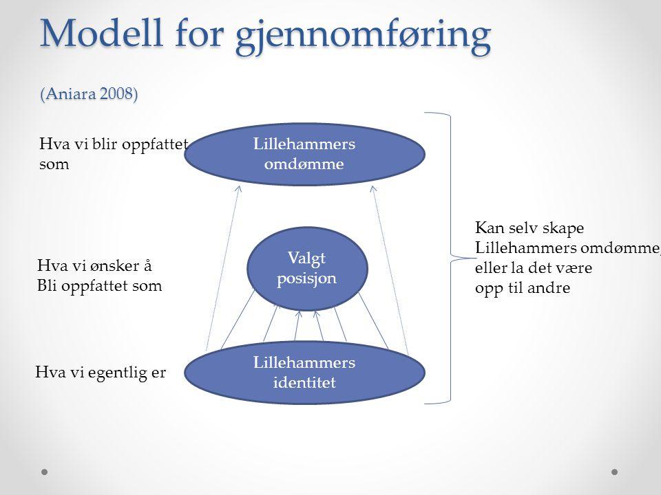 Modell for gjennomføring (Aniara 2008)