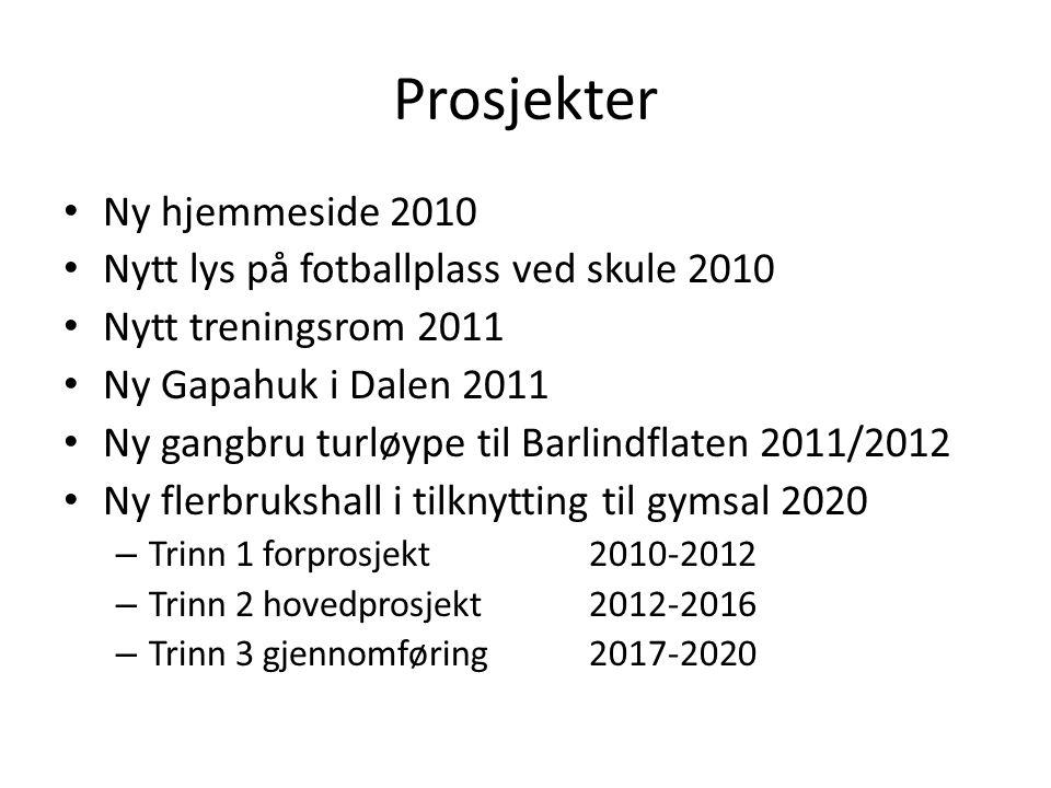 Prosjekter Ny hjemmeside 2010 Nytt lys på fotballplass ved skule 2010