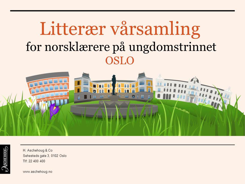 for norsklærere på ungdomstrinnet