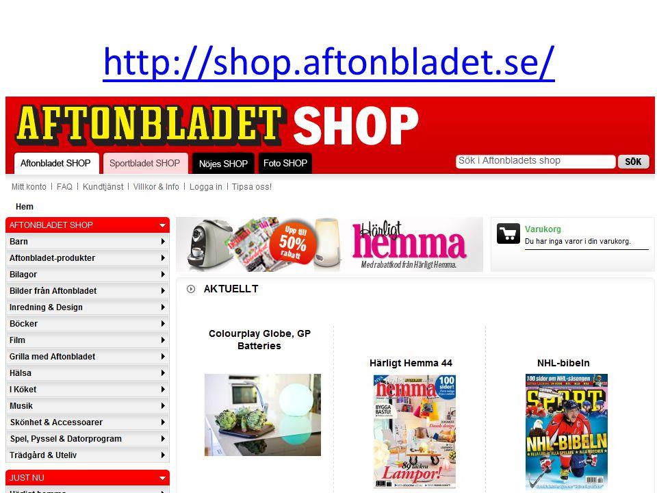 http://shop.aftonbladet.se/