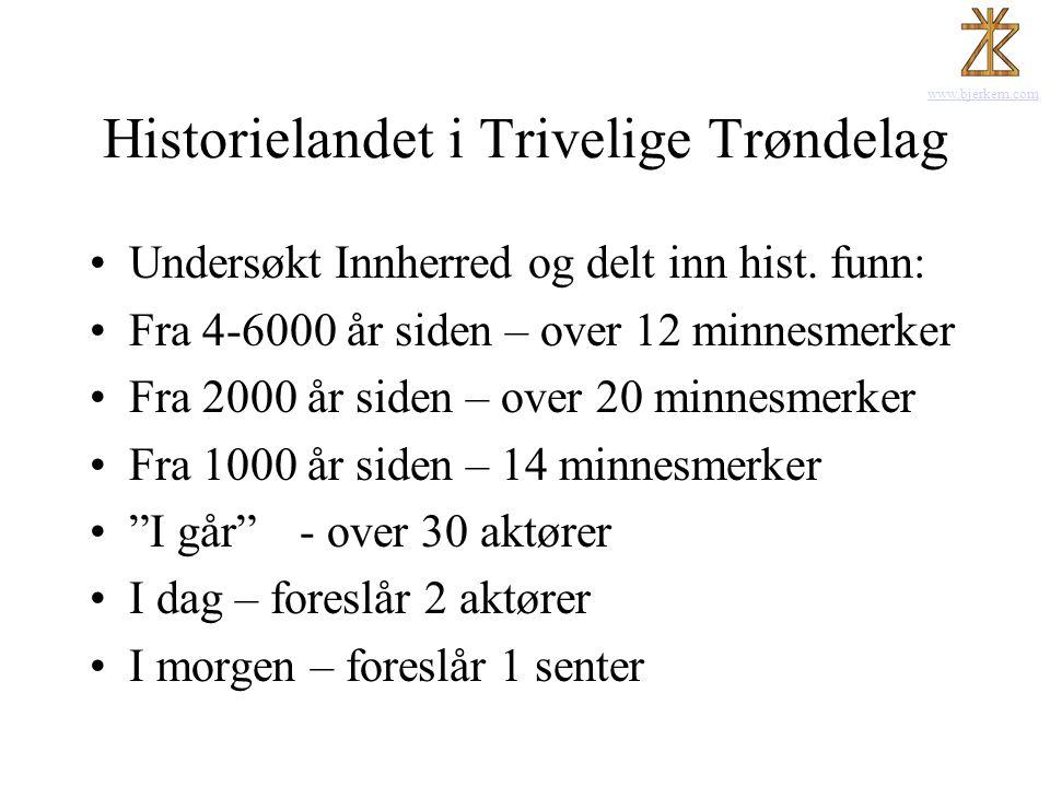 Historielandet i Trivelige Trøndelag