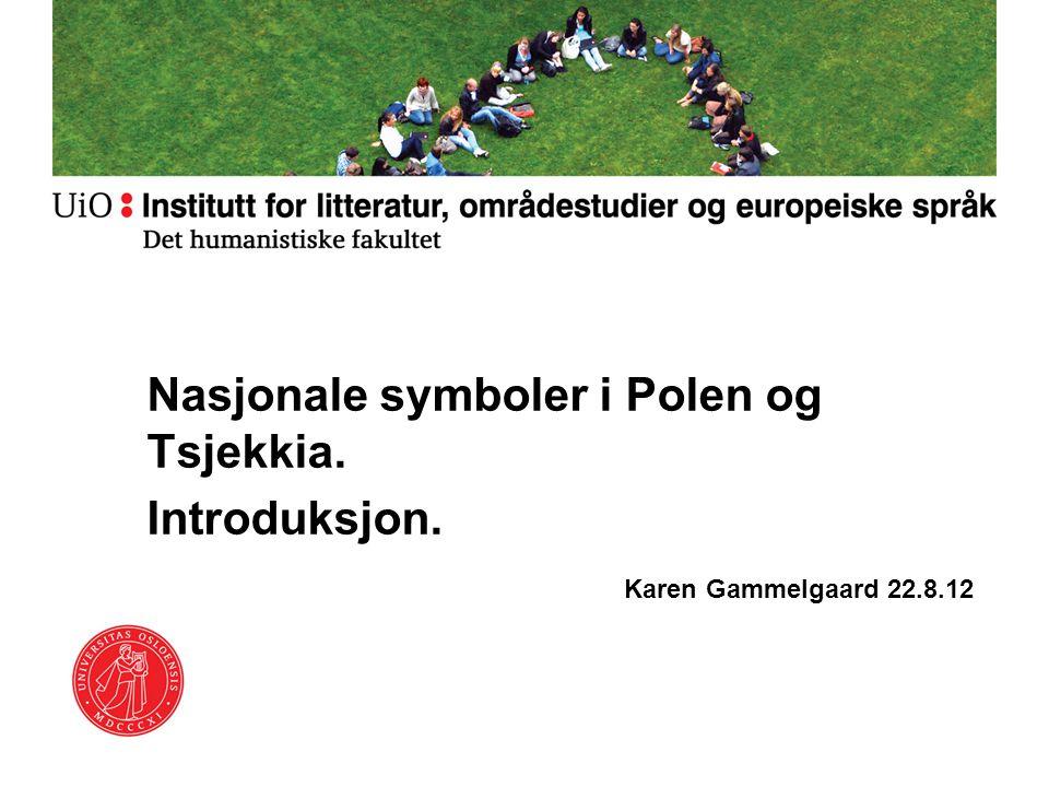 Nasjonale symboler i Polen og Tsjekkia. Introduksjon.