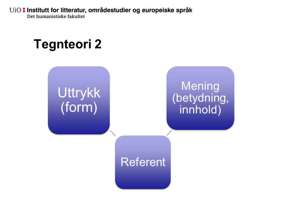 Mening (betydning, innhold)