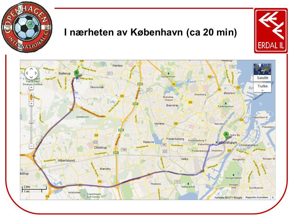 I nærheten av København (ca 20 min)