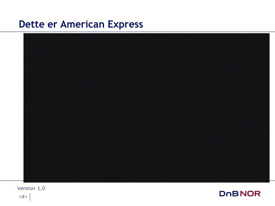 Dette er American Express