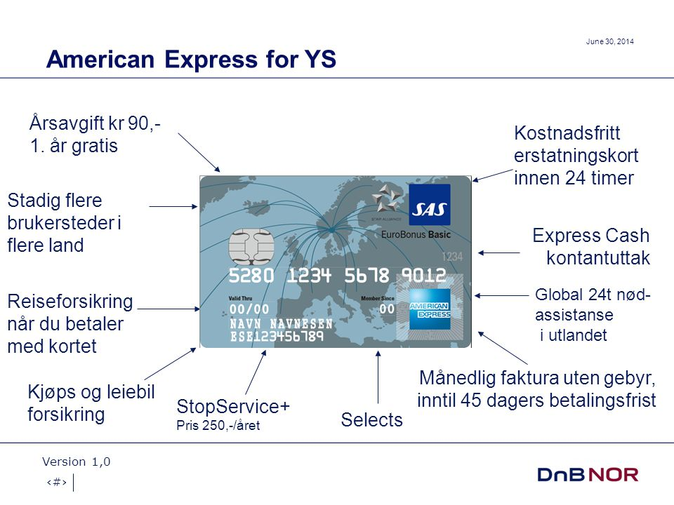 American Express for YS