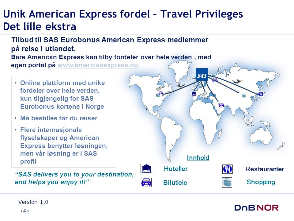 Unik American Express fordel – Travel Privileges Det lille ekstra