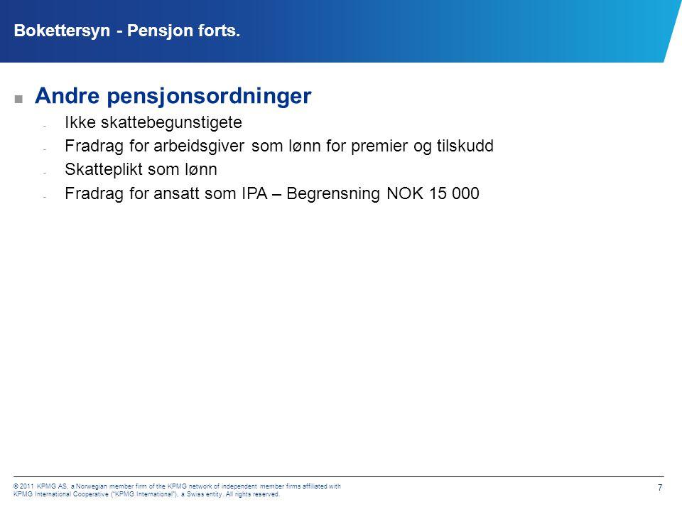 Pensjon - Folketrygden