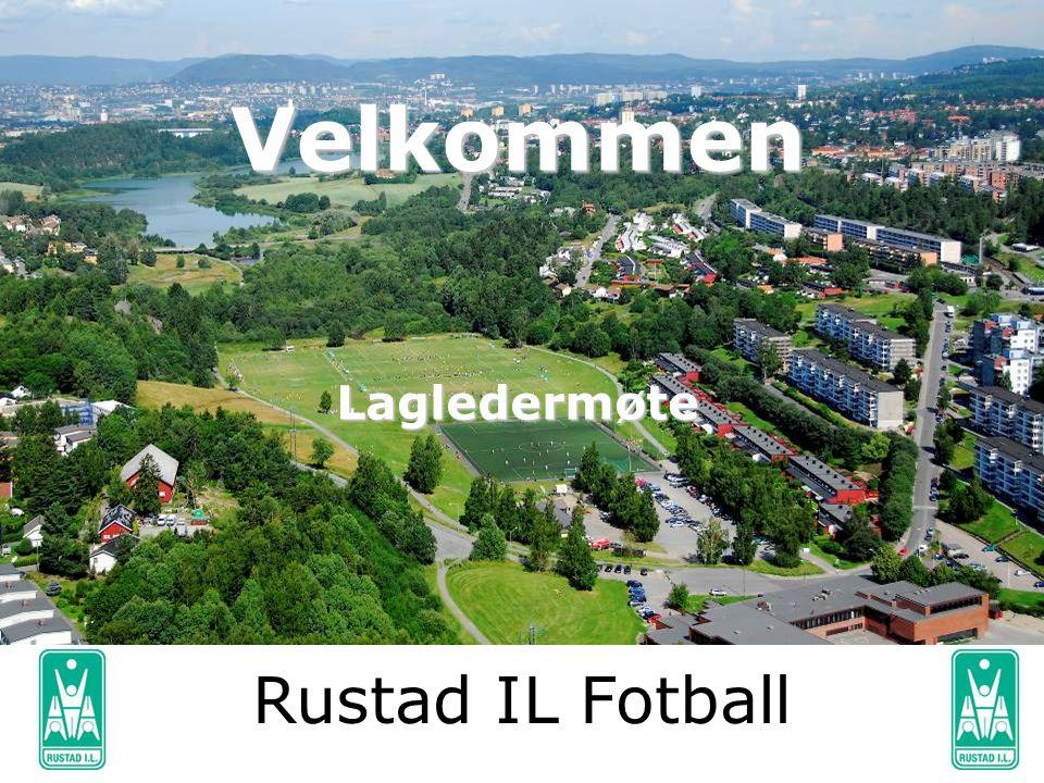 Velkommen Lagledermøte Rustad IL Fotball