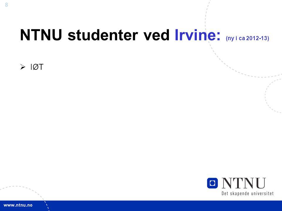 NTNU studenter ved Irvine: (ny i ca 2012-13)