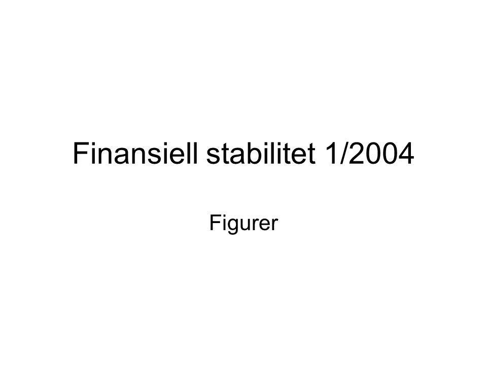 Finansiell stabilitet 1/2004