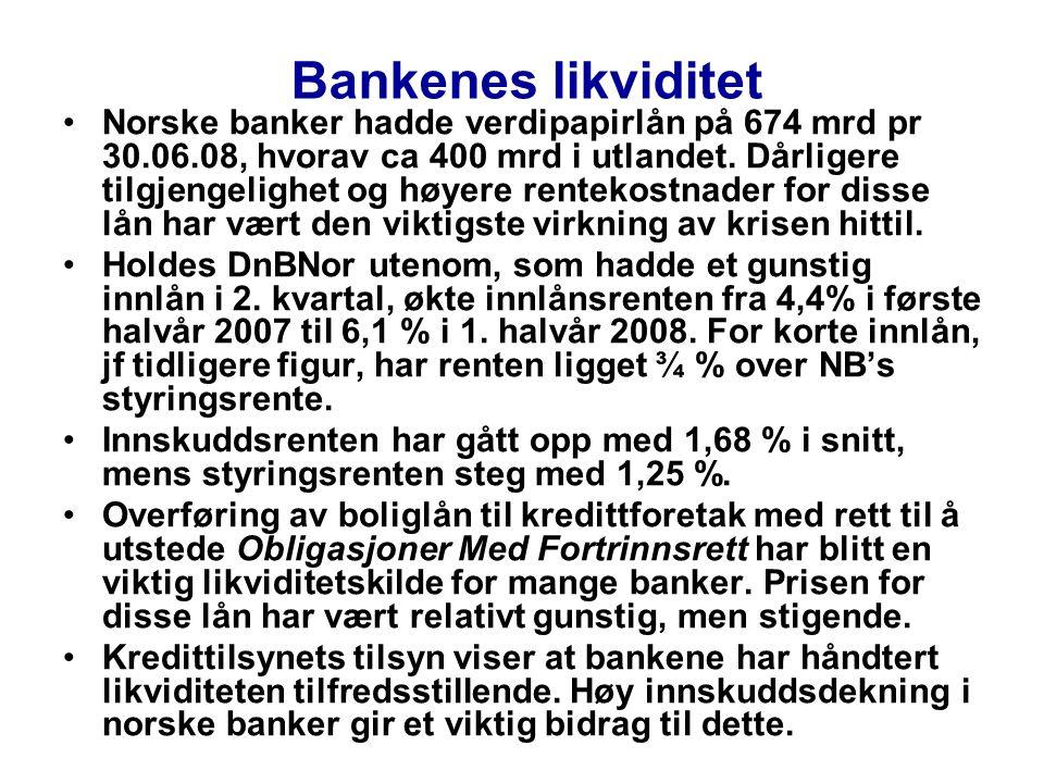 Bankenes likviditet