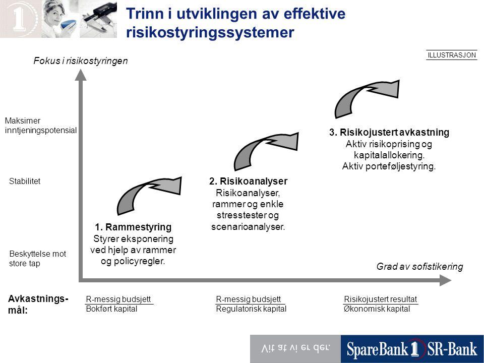 Trinn i utviklingen av effektive risikostyringssystemer