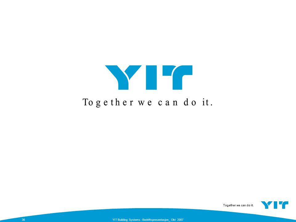 YIT Building Systems - Bedriftspresentasjon_ Okt 2007
