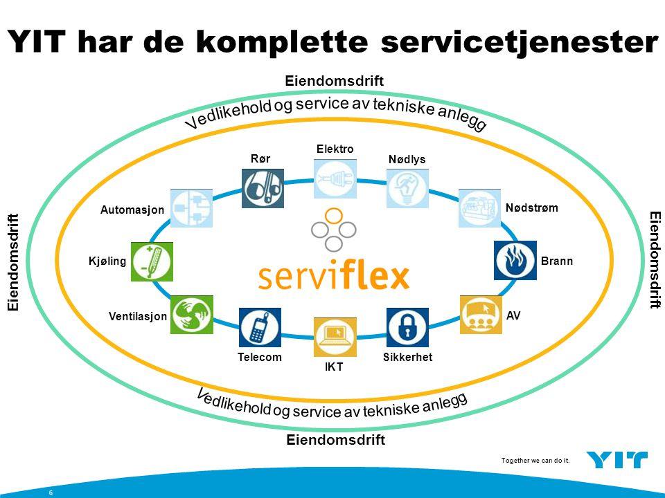 YIT har de komplette servicetjenester