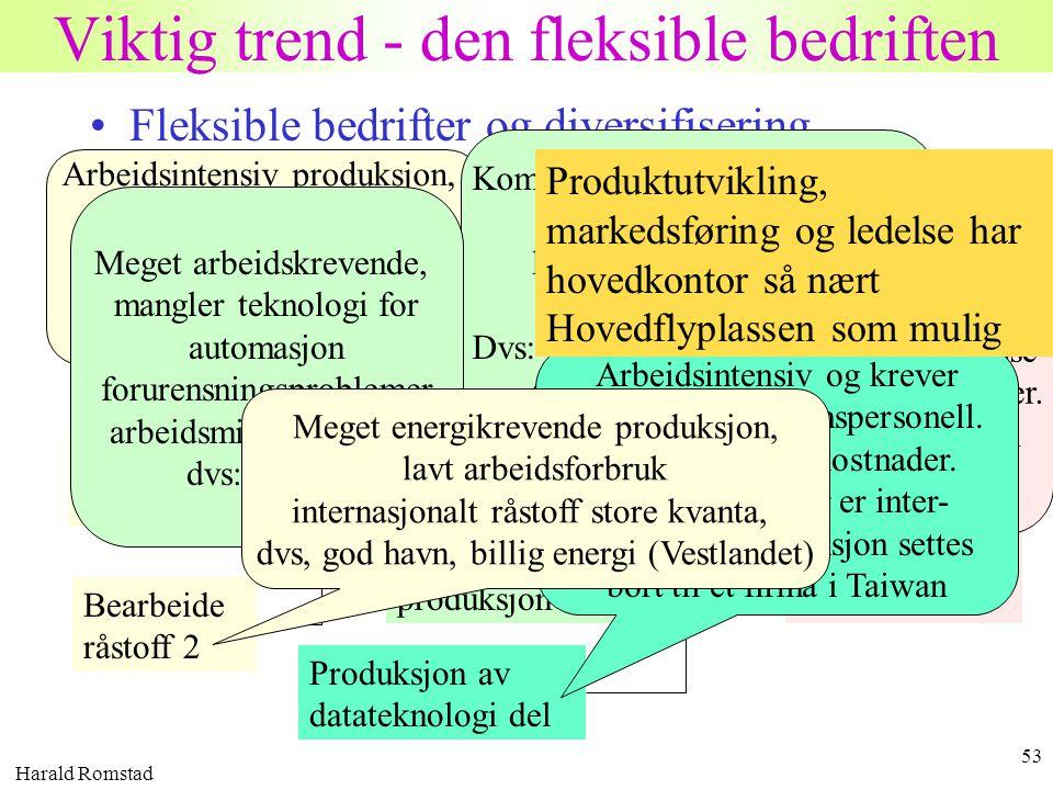 Viktig trend - den fleksible bedriften