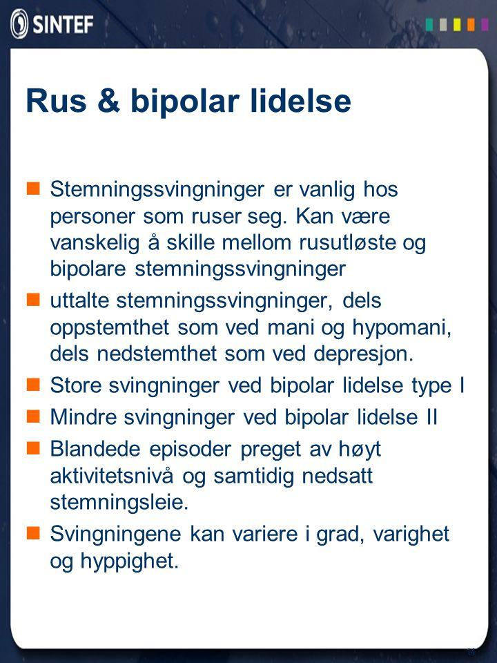 Rus & bipolar lidelse