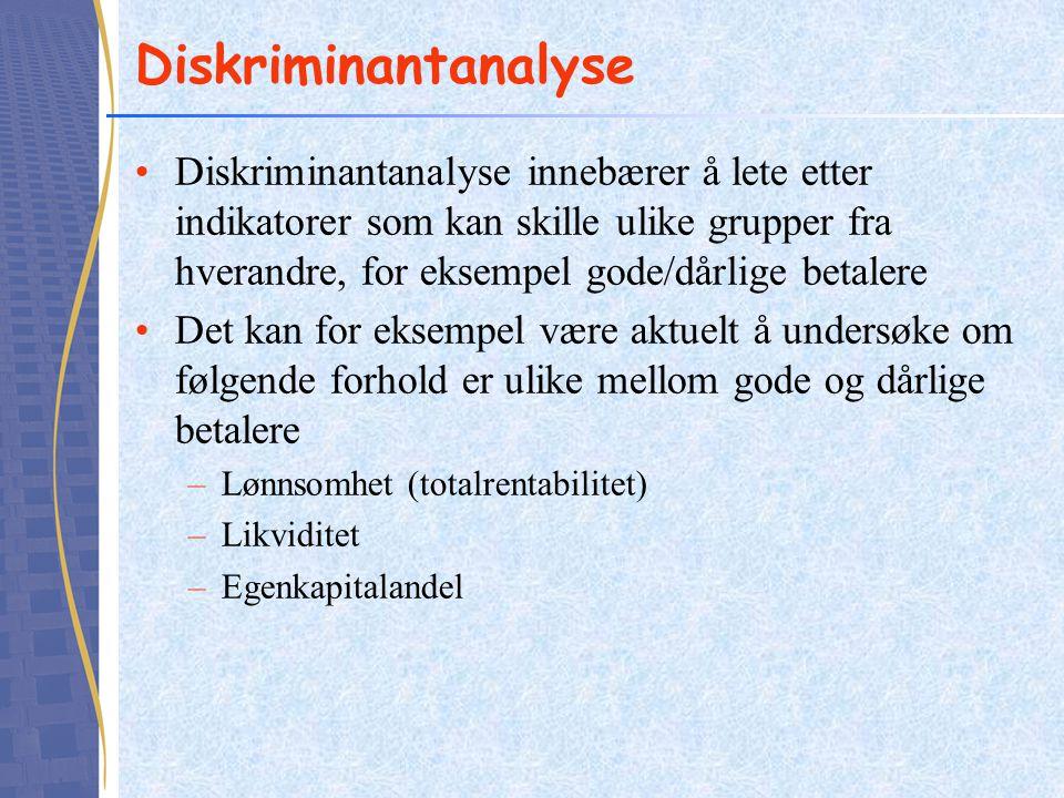 Diskriminantanalyse