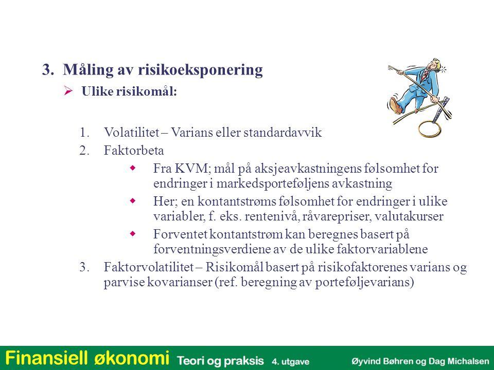 3. Måling av risikoeksponering