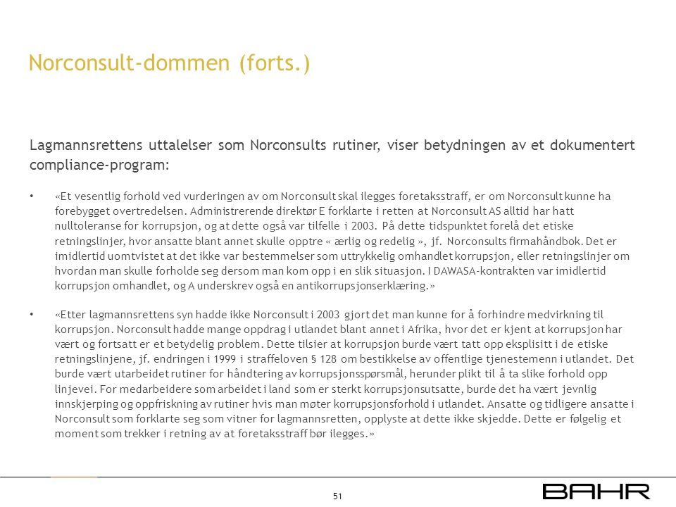 Norconsult-dommen (forts.)