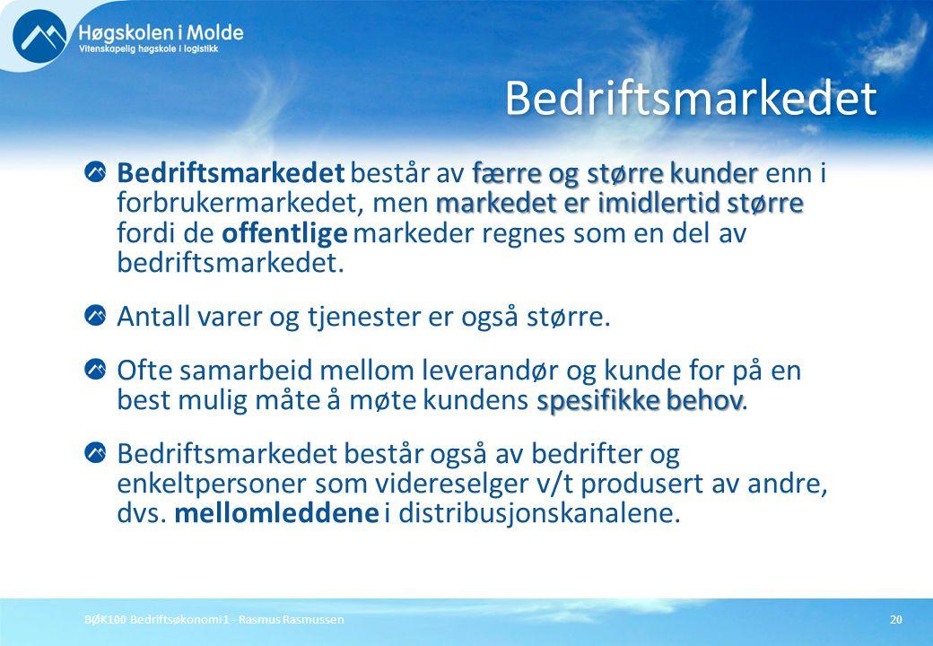 Bedriftsmarkedet