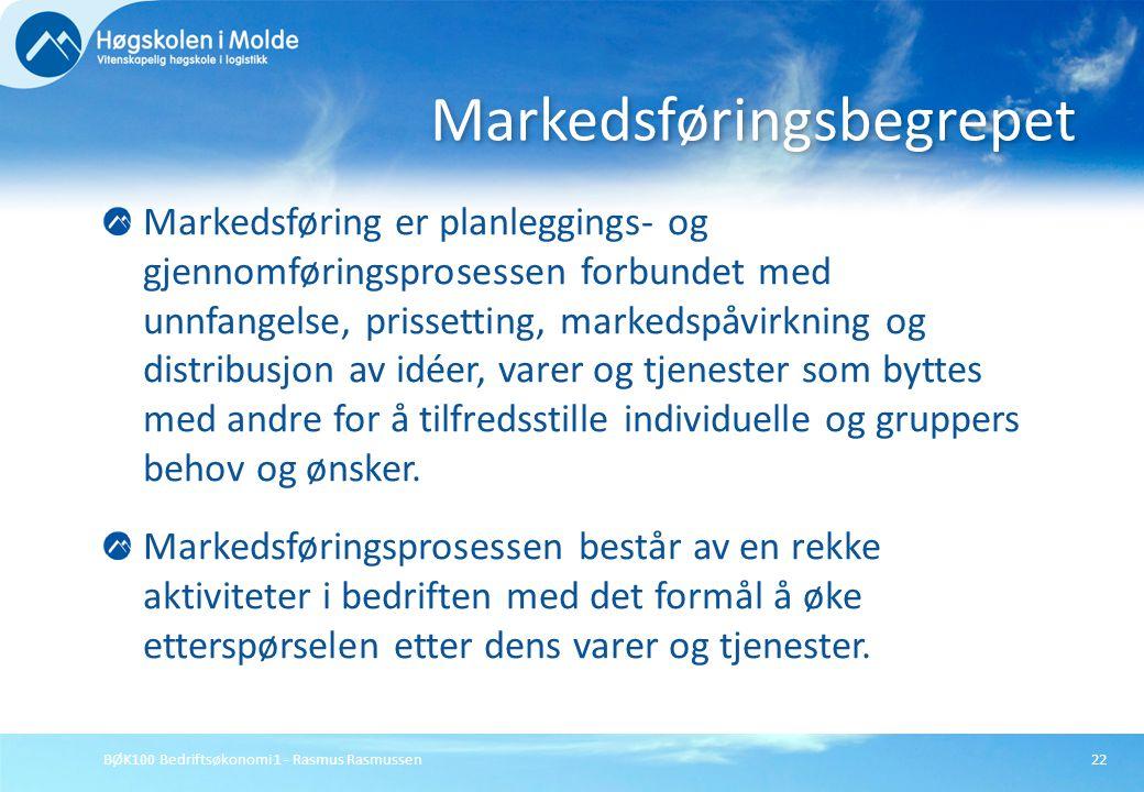 Markedsføringsbegrepet