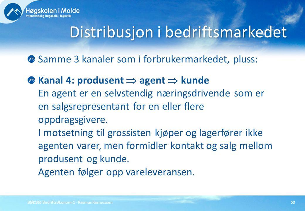 Distribusjon i bedriftsmarkedet