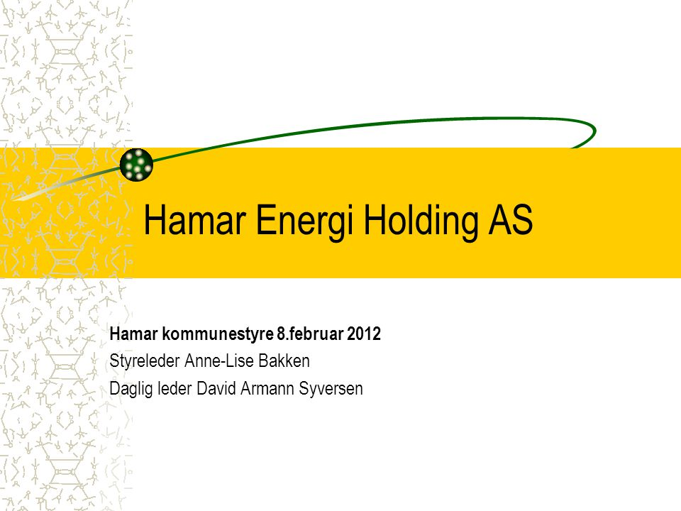 Hamar Energi Holding AS