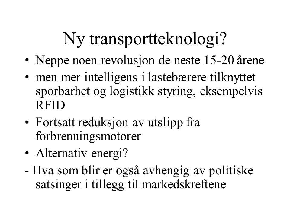 Ny transportteknologi