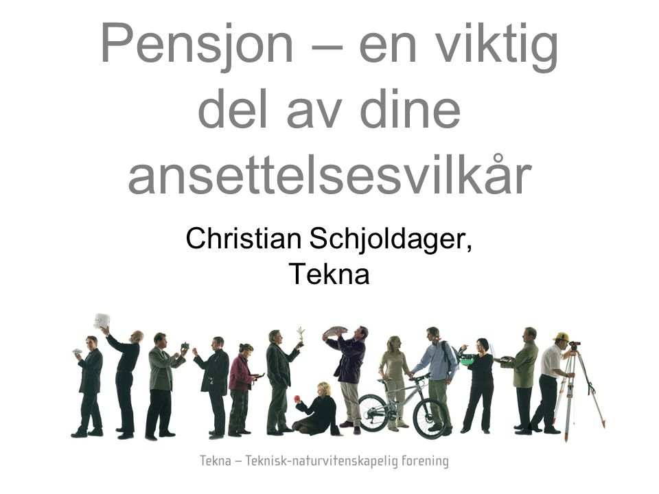 Pensjon – en viktig del av dine ansettelsesvilkår