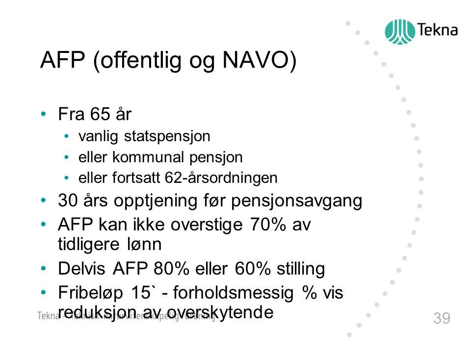 AFP (offentlig og NAVO)
